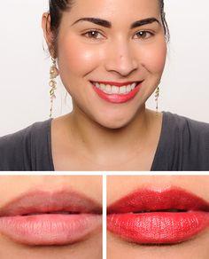 Chanel Impulsive (132) & Enigmatique (135) Rouge Allure Lip Color Reviews, Photos, Swatches