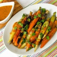 Carrots With Cilantro-Chile Drizzle by reneedobbs paleo-veggies-sides