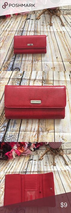 Nine and company Red wallet Nine and company Red wallet 💕 Nine & Co. Bags Wallets