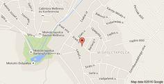 Map of Miskolc, Aradi u. 12, 3519