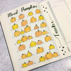 My last post of the day, here is my mood tracker for October, Mood Pumpkins I plan to fill the pumpkin with a face to show how my mood was. Quite excited to see how this turns out #bulletjournal #bulletjournaling #bulletjournaljunkies #bujobug #bujojunkies #bujolove #bulletjournalcommunity #bujocommunity #bujobeauty #planner #personalplanning #showmeyourplanner #planning #schedule #planwithme #stationery #journalcommunity #doodleartist #doodleart #moodtracker