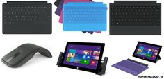 Microsoft announced a new lineup of Surface 2 and Surface 2 Pro accessories
