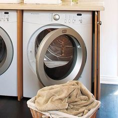 Cabinets for washer and dryer in the kitchen | Laundry today or ...