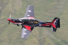 RAF Shorts Tucano T.1 ZF317 low level at Thirlmere