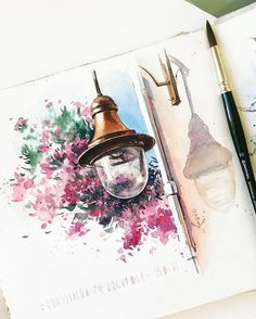 Watercolorist: @juliabarminova #waterblog #акварель #aquarelle #painting #drawing #art #artist #artwork #painting #illustration #watercolor #aquarela