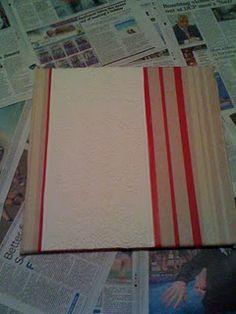 stripe paint your own canvas