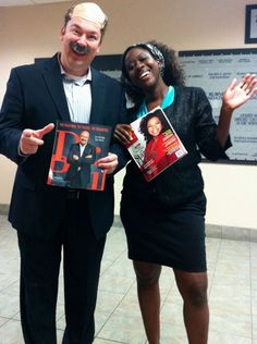 goodwill industries of fort worth president and ceo david cox dressed up as dr phil goodwill industriesoprah winfreyfort - Oprah Winfrey Halloween Costume
