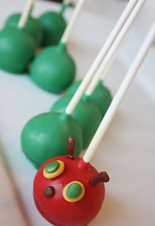 Also for when Max turns 2!    Cute Food For Kids?: 22 The Very Hungry Caterpillar inspired food creations