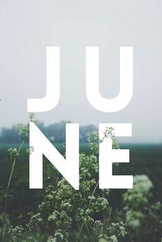 JUNE / Typography