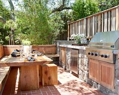 Amazing Outdoor Deck (but this entire link has some pretty amazing other ideas as well! WOW)
