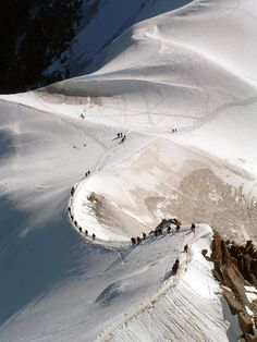 Mountaineering, Mont Blanc, France.I want to go see this place one day. Please check out my website Thanks.  www.photopix.co.nz