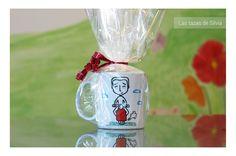"""Esta me encanta! Tazas personalizadas! Pintadas a mano por """"las tazas de silvia"""" #mug #taza #personalizada #regalo #original"""