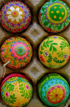 Colorful Easter Eggs!