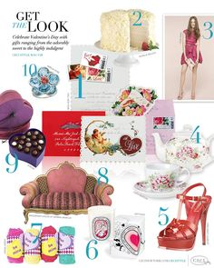CeciStyle Magazine v28: Get The Look - Celebrate Valentine's Day with gifts ranging from the adorably sweet to the highly indulgent
