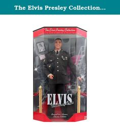"""The Elvis Presley Collection """"The Army Years"""" Classic Edition Doll Mattel. Collectible Elvis Presley figure, The Army Years, Classic Edition."""
