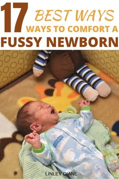 Thank God I found this article! It has helped me know what to try to soothe my fussy newborn and now I have confidence as a new mom! Newborn Baby Care, Newborn Baby Photos, Newborn Baby Photography, New Parents, New Moms, Newborn Constipation, Fussy Baby At Night, Baby Care Tips, Sports Mom