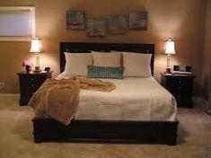 bedroom modern design for christmas