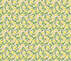 Pink Lemonade fabric by estrojenn on Spoonflower - custom fabric