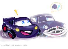 Cars Cartoon Disney, Disney Cars Movie, Disney And Dreamworks, Nissan Sunny, Touching Stories, Arte Disney, Kawaii, Lightning Mcqueen, Cute Cars