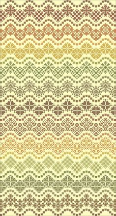Esther's Waves  Cross Stitch ONLY PDF by NorthernExpressions1