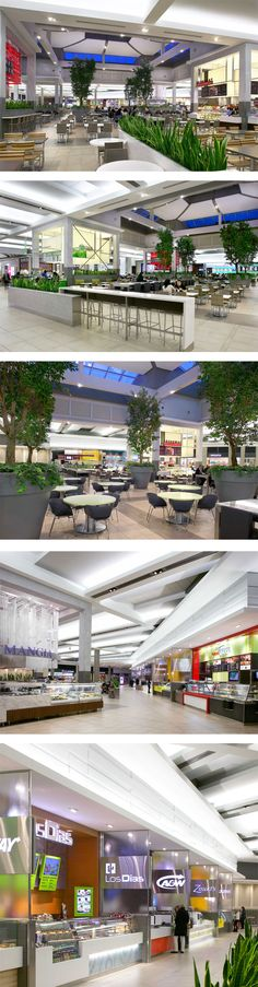 Gourmet Terrace at Carrefour Laval in Laval, QC - designed by GH+A (in collaboration with Le Groupe Archifin)