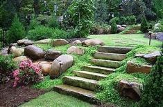 landscaping ideas for hill in backyard | Landscaping ...