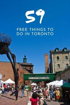 Are you a visitor or a local of Toronto? Are you strapped on a budget or looking for something easy to do on the weekend? This is a big list of the best free things to do in Toronto that you have to check out! #toronto #seetorontonow #canada Toronto Hotels, Toronto Travel, Cruise Excursions, Cruise Destinations, Free Things To Do, Ontario Travel, Toronto Island, Urban Park