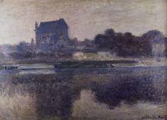 Vernon Church in Fog, 1893 Claude Monet
