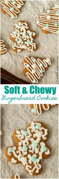Soft and Chewy Gingerbread Cookies plus How to Make the BEST Gingerbread Cookies Tips. You MUST try this BEST gingerbread cookie recipe