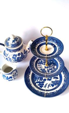 Edwardian tea sets - BrightNest | 2X4: Four Ways to Decorate Your House Like Downton Abbey