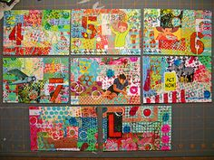 DIY Postcards by Hahawtf, on flickr #mailart
