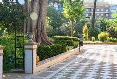 seville: Jardines de Murillo - look for calenteria around the corner