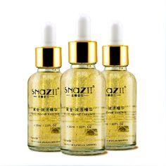 1 PC Snazii ouro reviver essência endurecimento ouro creme de rejuvenescimento soro para o rosto cuidados com a pele Colageno Anti envelhecimento creme de clareamento alishoppbrasil
