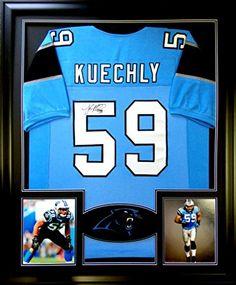 Luke Kuechly Framed Jersey Signed JSA COA Autographed Carolina Panthers Mister Mancave http://www.amazon.com/dp/B00WIDDWPC/ref=cm_sw_r_pi_dp_m8-rwb1D4PTFX