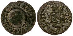 El vellón a molino de Felipe IV - Blog Numismatico