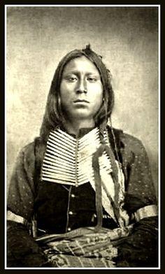 Kiowa man, Grey Goose - Satanta's son.