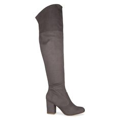 Shoe Connection - Verali - Edison over knee boot in grey. $149.99 https://www.shoeconnection.co.nz/womens/boots/over-knee-boots/verali-edison-over-knee-boot?c=Grey%20Suede
