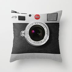 Camera Throw Pillow� https://www.rousetheroom.com/products/unique-camera-throw-pillow