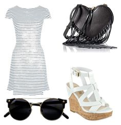 """""""Nice day"""" by dayana-gomez-perez on Polyvore featuring New Look, GUESS and Rebecca Minkoff"""