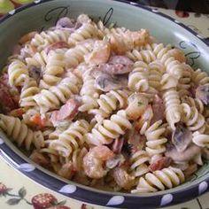 Mardi Gras Pasta Allrecipes.com