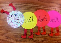 Contraction Caterpillars ... love this!