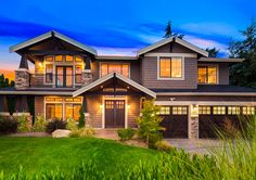 Exquisite Craftsman House Plan - 23659JD | 2nd Floor Master Suite, Butler Walk-in Pantry, Craftsman, Den-Office-Library-Study, Luxury, Media-Game-Home Theater, Northwest, Photo Gallery, Wrap Around Porch | Architectural Designs