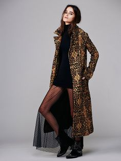 I need this in my life. Free People Long Winded Tapestry Coat.