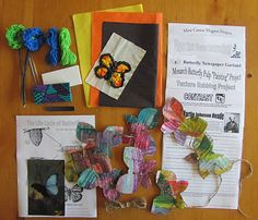 Winter Kit with handicraft, nature study and art ideas.