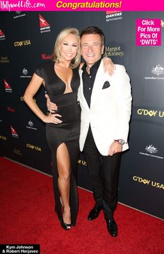 Kym Johnson & Robert Herjavec Engaged One Year After Falling In Love On 'DWTS'