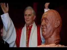 'Papa Francisco' en el Museo de Cera de Madrid.