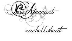New Account @Rae.
