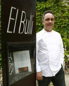 Ferran Adria - one of the greatest chefs of his generation.