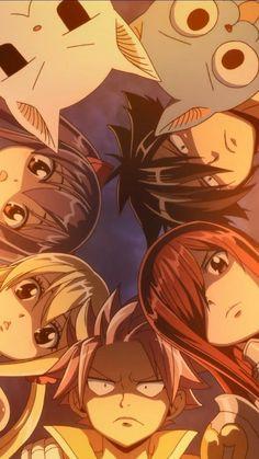 Wallpaper anime fairy tail 69 ideas for 2019 Natsu Fairy Tail, Fairy Tail Erza Scarlet, Fairy Tail Gray, Fairy Tail Ships, Fairy Tail Games, Art Fairy Tail, Couples Fairy Tail, Fairy Tail Amour, Fairy Tail Symbol
