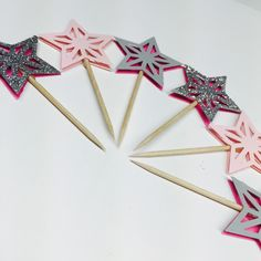 A personal favorite from my Etsy shop https://www.etsy.com/listing/277605726/star-collection-cupcake-toppers-in
